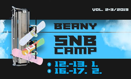 Beany Snowboard Camp vol. 2, 3 2019